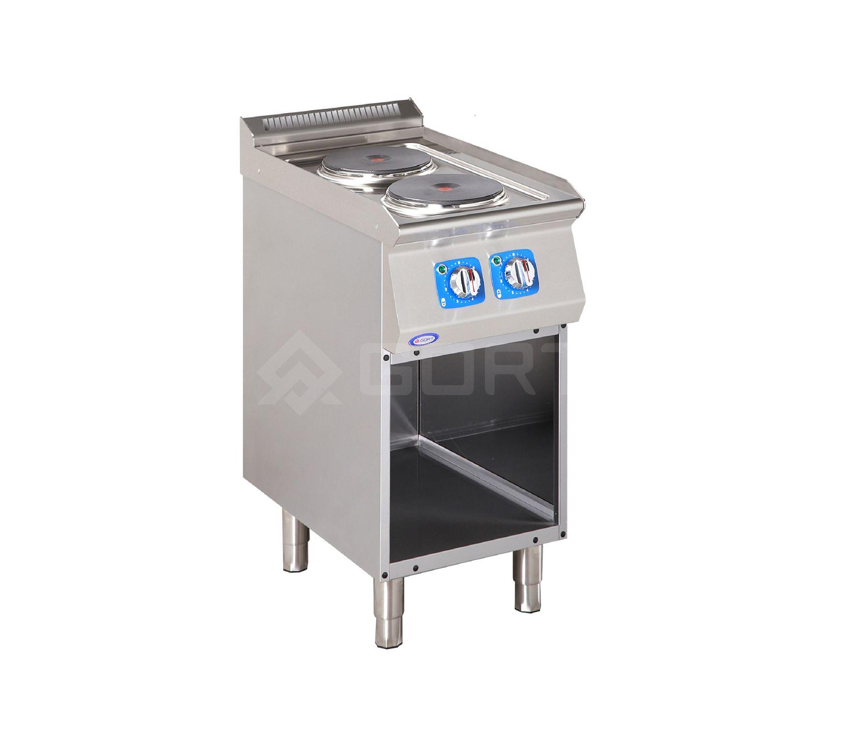 Kuchnia elektryczna 2-płytowa z szafką