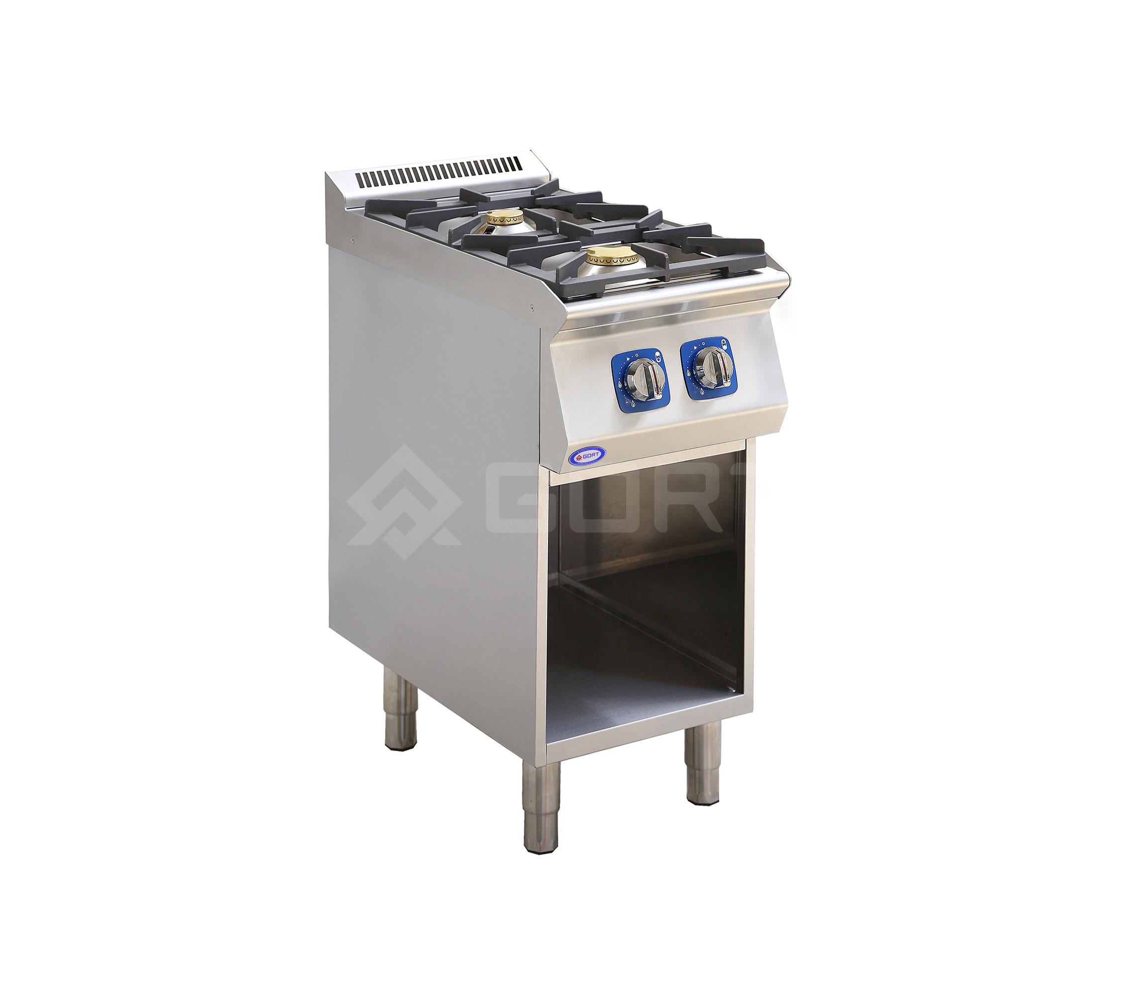Kuchnia gazowa 2-palnikowa z szafką