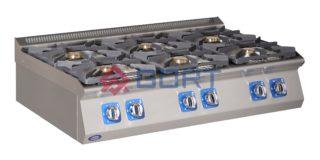 kuchnia gazowa 6 palników