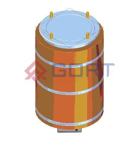 Dystrybutor talerzy DROP-IN, grzewczy, śr.  280 mm