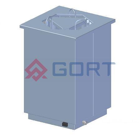 Dystrybutor talerzy DROP-IN, grzewczy, śr. 190 ÷ 280 mm