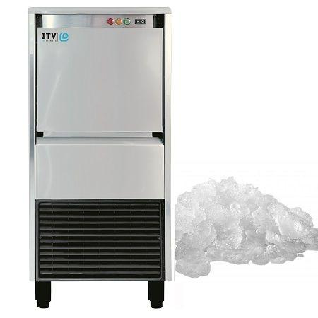 Łuskarka do lodu ICE QUEEN 50kg/24h, chłodzona wodą