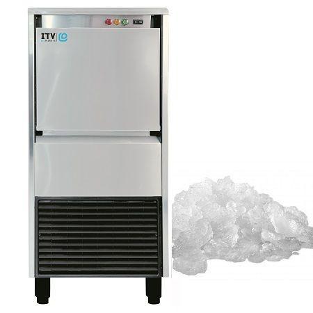 Łuskarka do lodu ICE QUEEN 85kg/24h, chłodzona powietrzem
