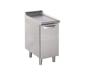 element neutralny z szafką butla gazowa lub zmiękczacz wody