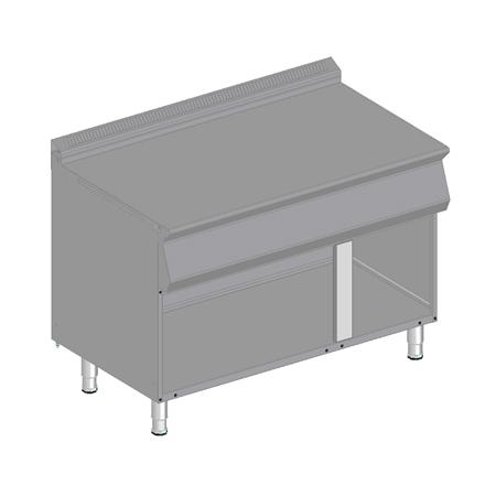 Element neutralny z szafką 1200