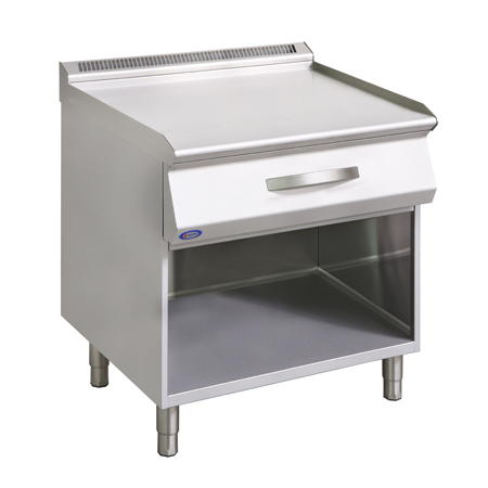 Element neutralny z szufladą i z szafką 800