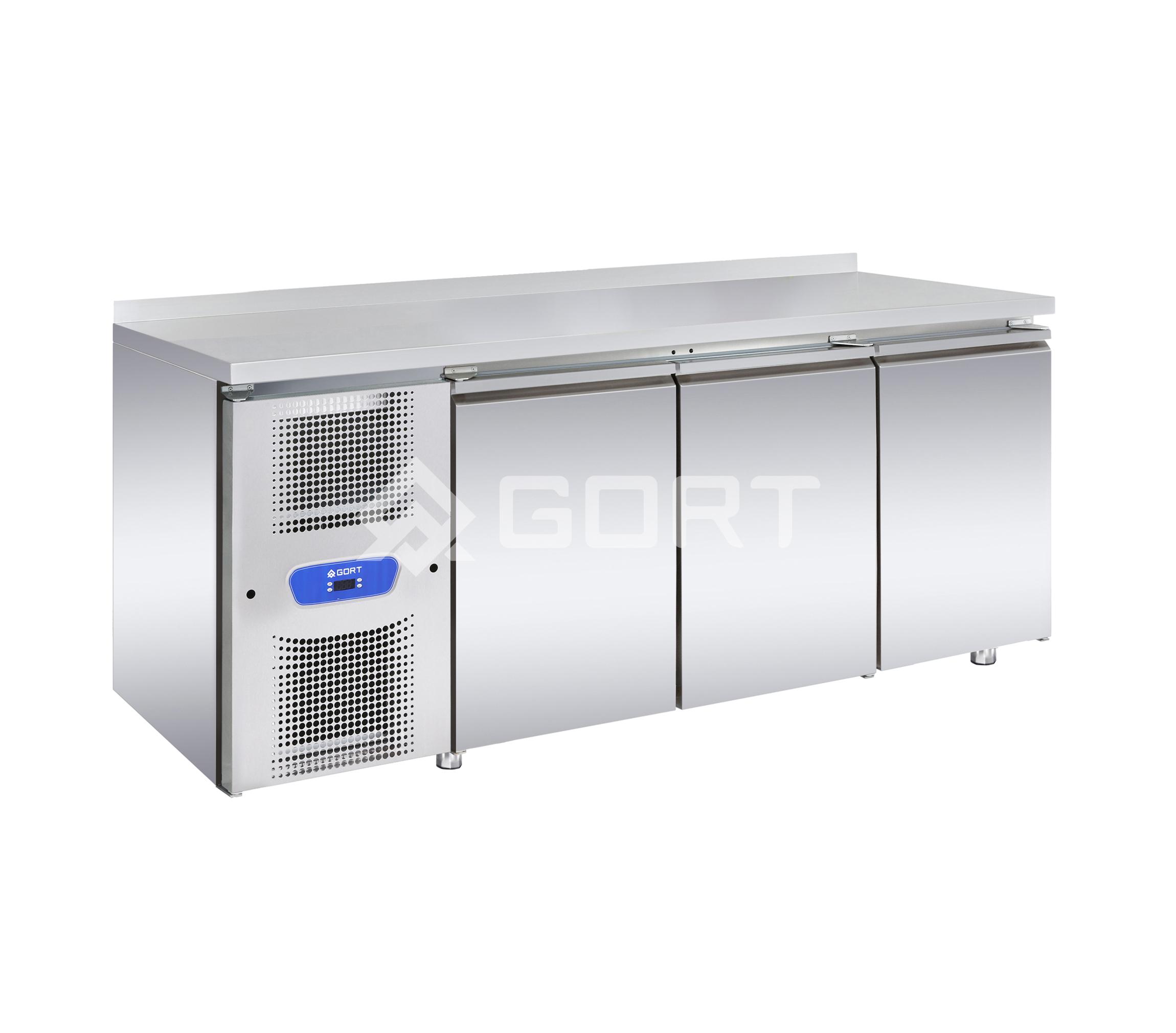 Stół chłodniczy 3-komorowy na tace 400×600
