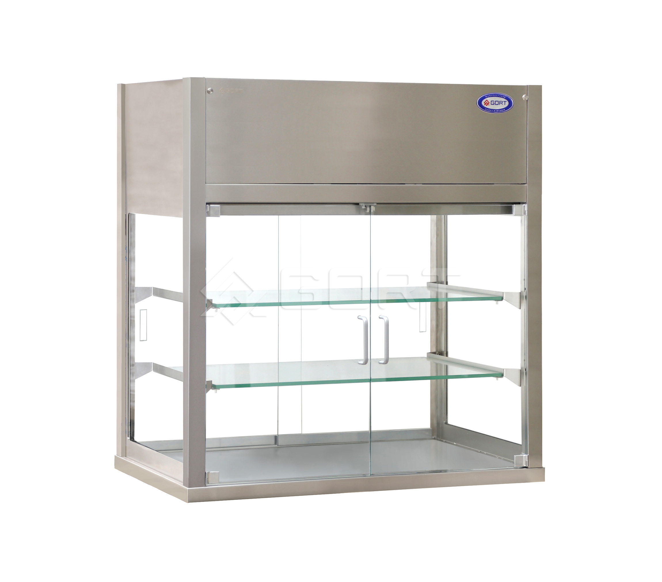 Witryna chłodnicza z drzwiami otwieranymi