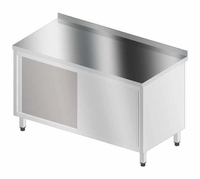 Stół korpusowy z drzwiami suwanymi