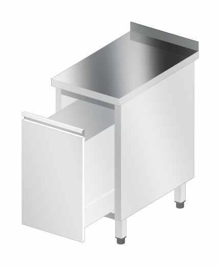 Stół korpusowy z szufladą