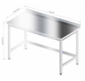 stół szkieletowy ze wzmocnieniami