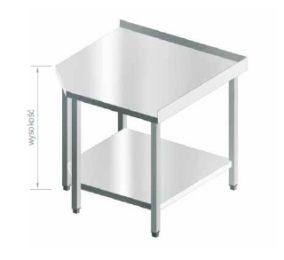 stół szkieletowy narożny