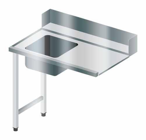 Stół załadowczy prosty ze zlewem