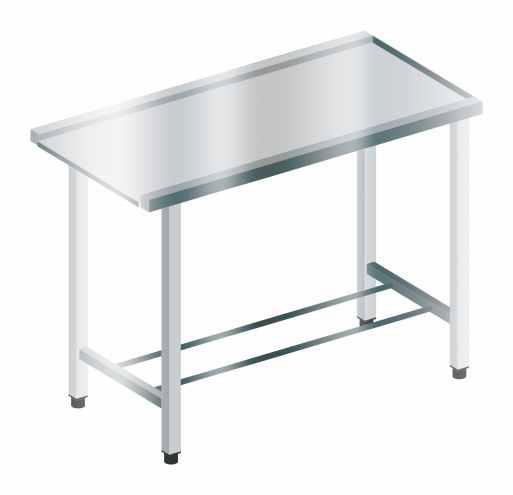 Stół wyładowczy prosty