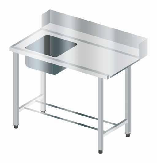 Stół załadowczy ze zlewem