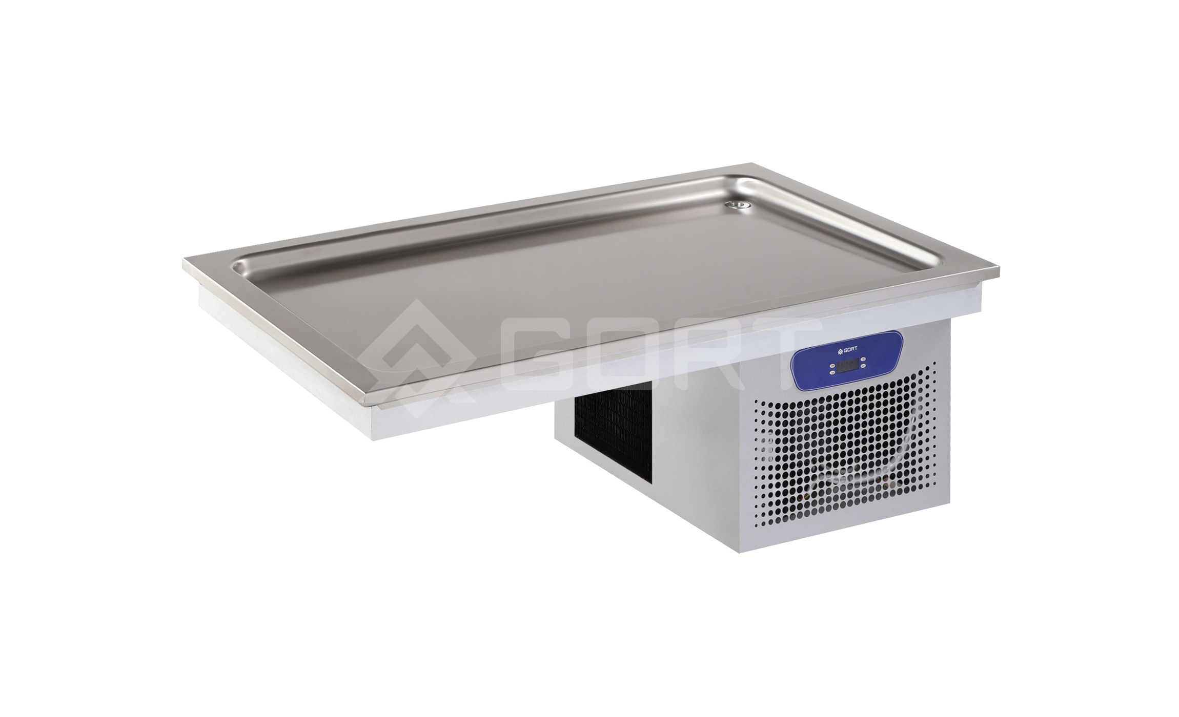 Refrigerated static top DROP-IN, 3 x GN1/1