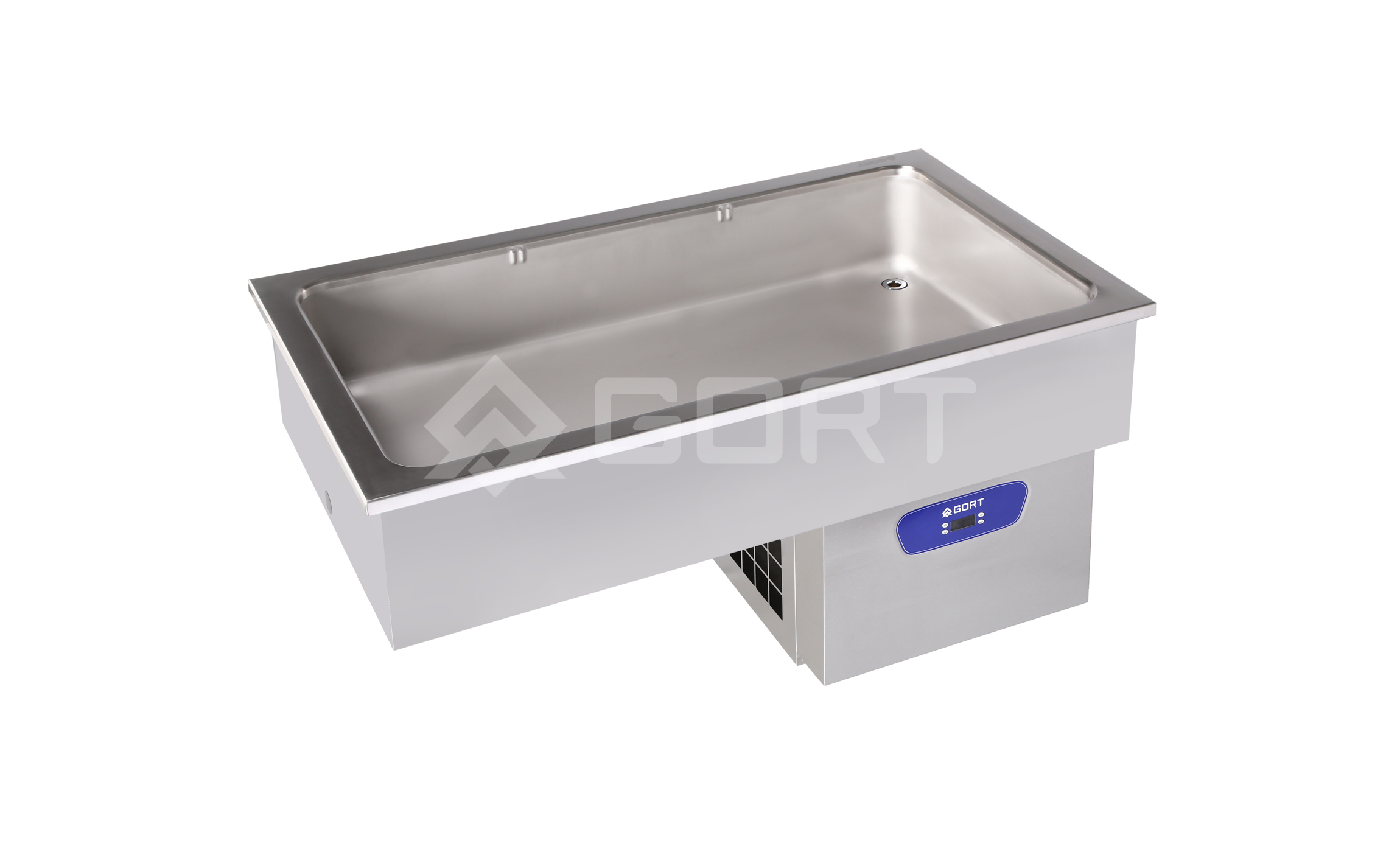 Refrigerated static well DROP-IN, 3 x GN1/1
